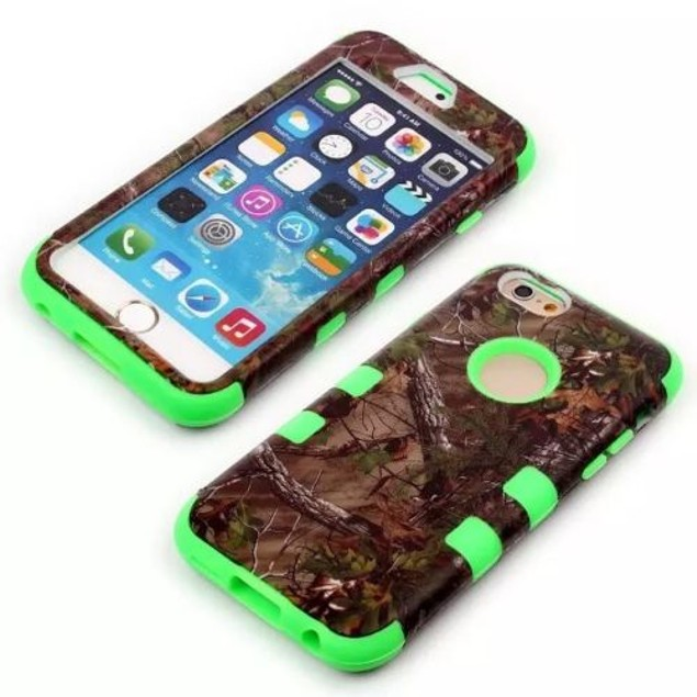 Camouflage Real Tree Rugged Protective Cases