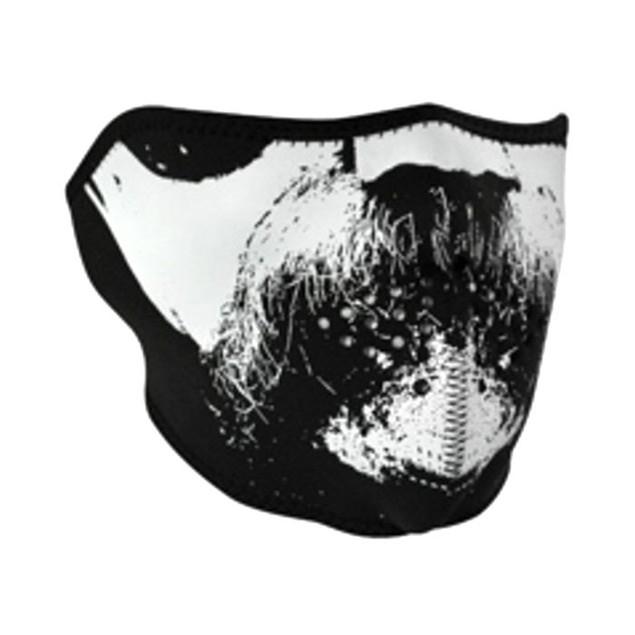 Neoprene 1/2 Face Mask - Wild West Mustache