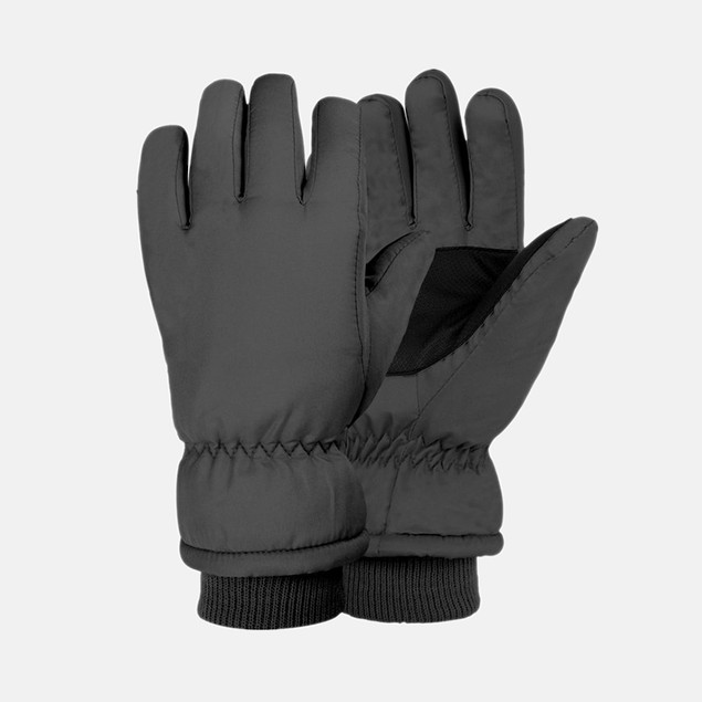 Girl's Lined Taslon Ski Gloves