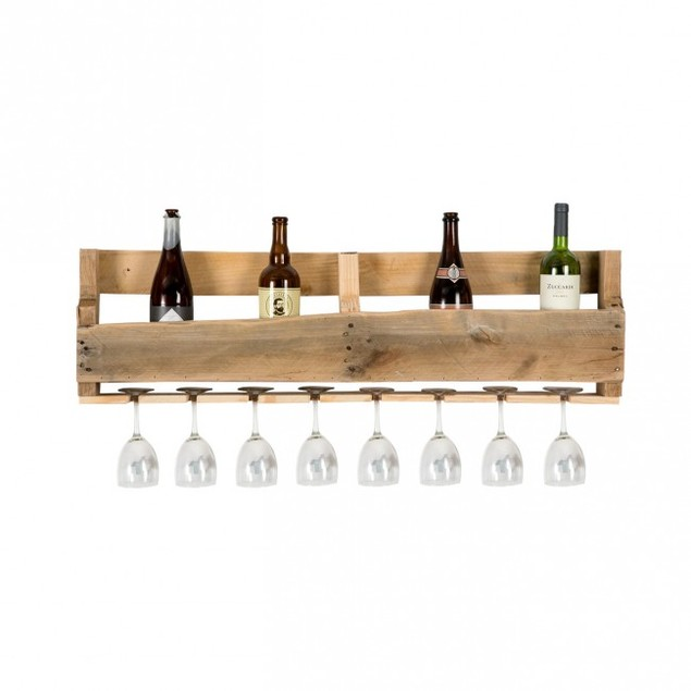 Olivia Wine & Glass Rack