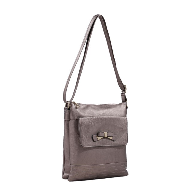 MKF Collection Cindy Multi Pocket Crossbody Bag by Mia K Farrow
