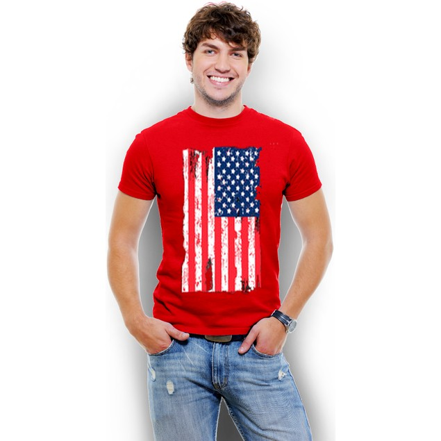 USA Flag  Men's T-Shirt