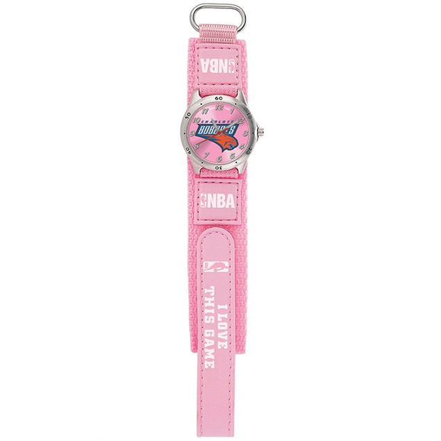 Gametime NBA Future Star Youth Pink Watch  - Charlotte Bobcats