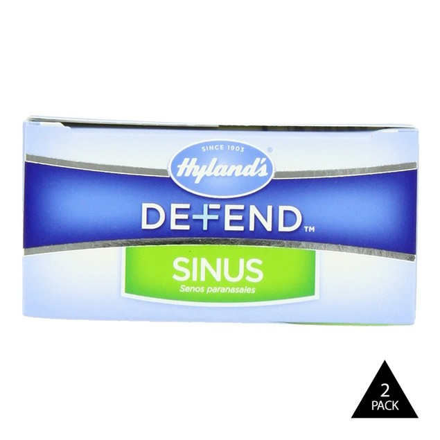 2-Pack Hyland's Defend Sinus Quick Dissolving Tablets 80ct