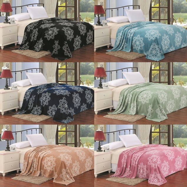 Cozy Super Soft Micro Plush Blankets