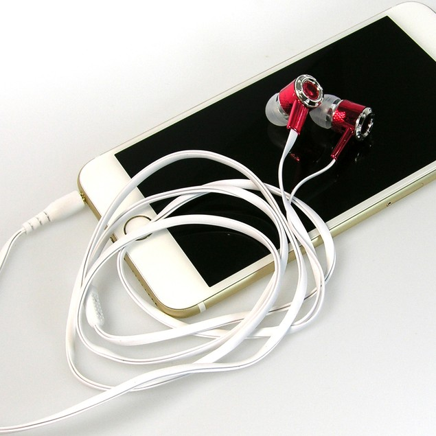 10-Pack: Earbud Headphones - Assorted Colors