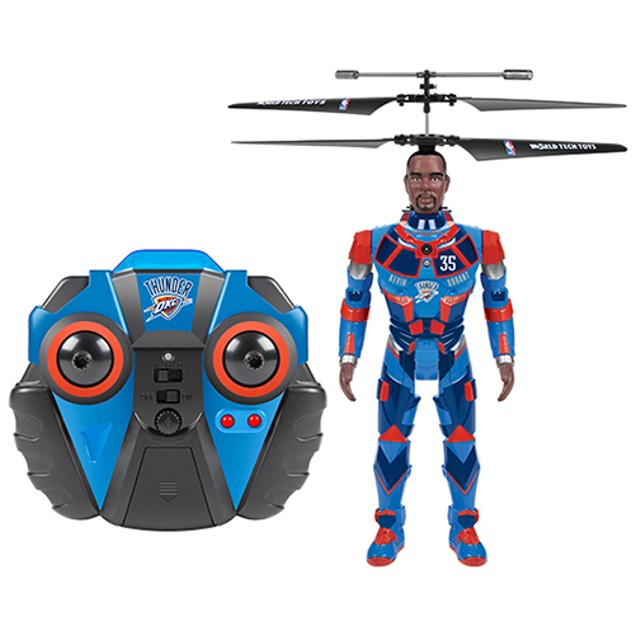 NBA ROBOJAM Kevin Durant 3.5 Channel IR Helicopter