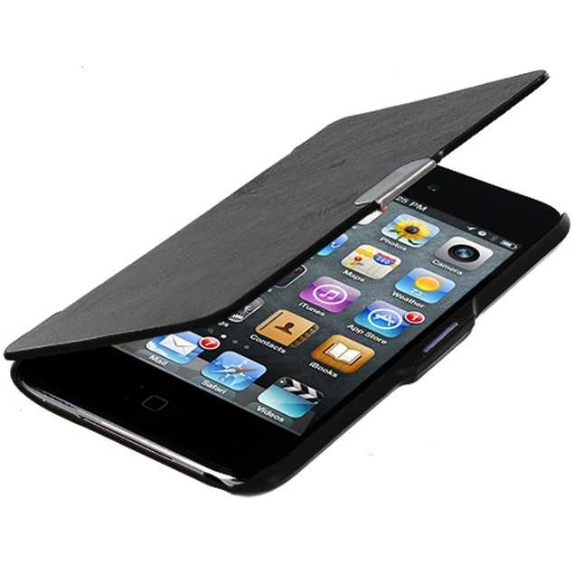 Apple iPod Touch 4th Generation Slim Wallet Magnetic Flip Case Cover