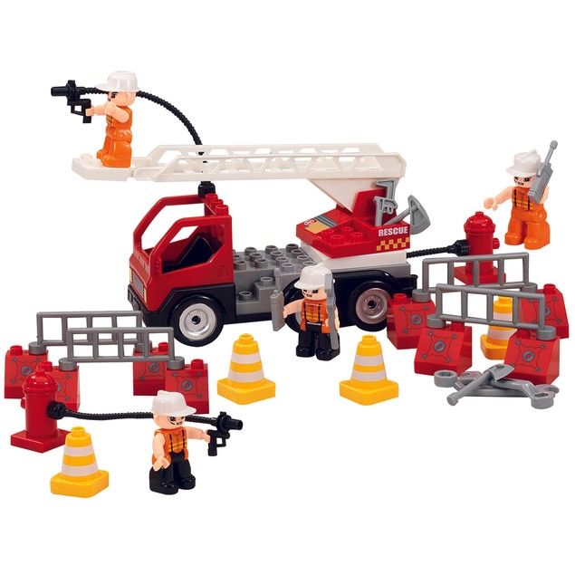 Firetruck Set with Accessories