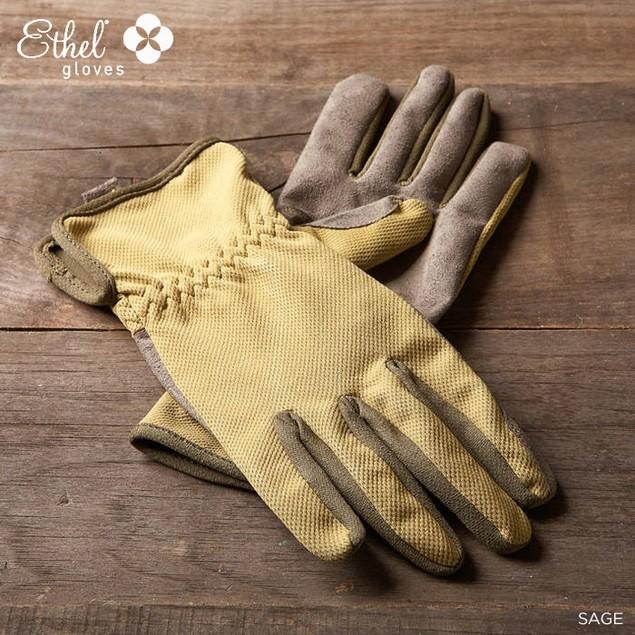 2 Pairs Ethel by Mechanix Wear Women's Bamboo Garden Glove - 3 Color Options