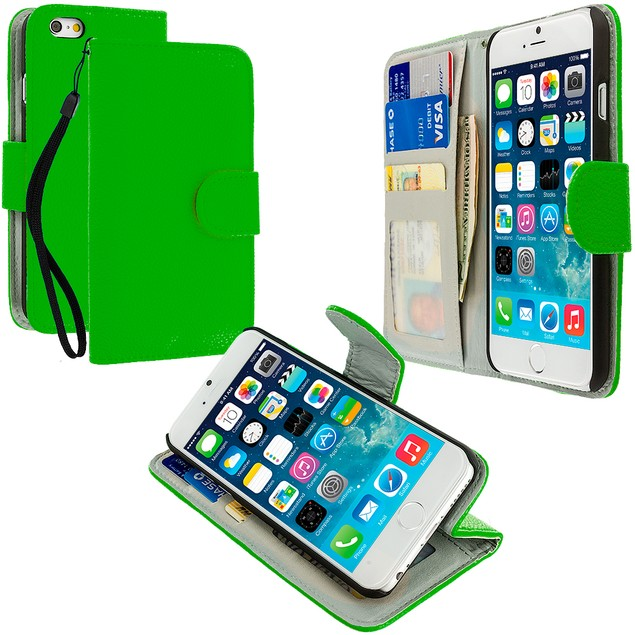 Apple iPhone 6 Plus (5.5) Wallet Pouch Case Cover with Slots