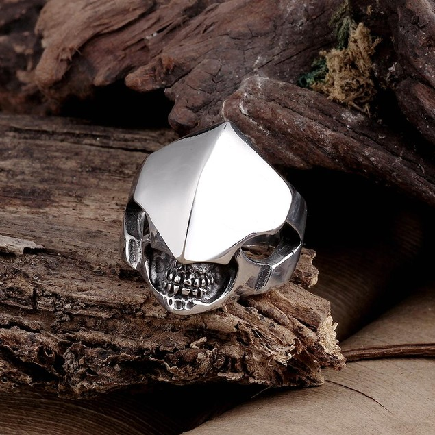 Clean Cut Stainless Steel Ring
