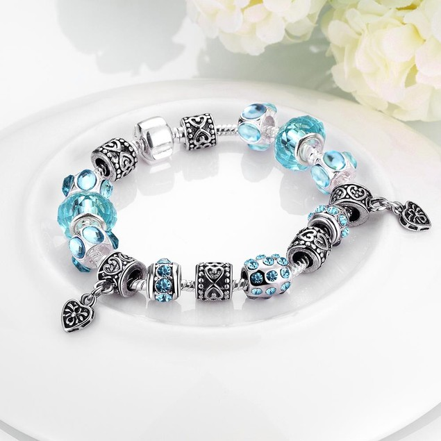 Aruba Aqua Blue Designer Inspired Bracelet
