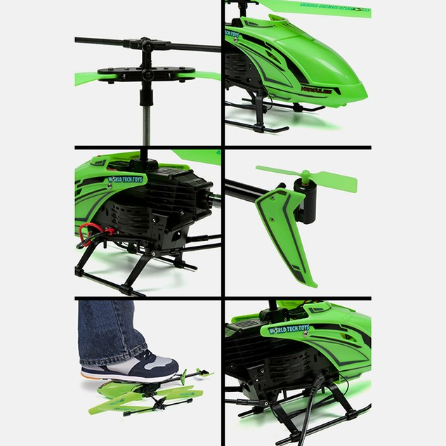 """Glow in the Dark"" Hercules Unbreakable Helicopter"