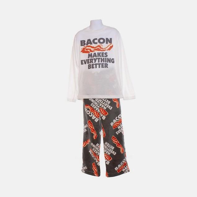 Bacon Makes Everything Better - Fleece Leggings - 2pc Sleep Set