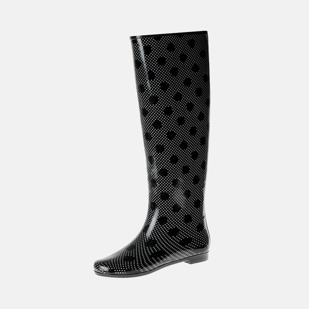 Henry Ferrera Women's Colorado Rain Boots - Solar Polka Dot