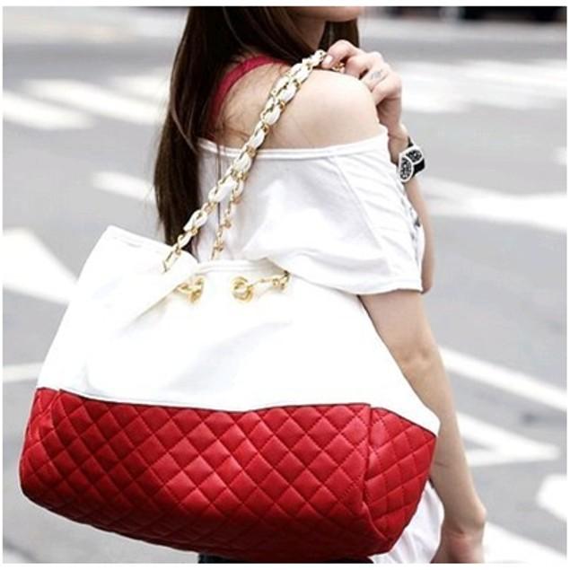 Chain Link Tote Handbag