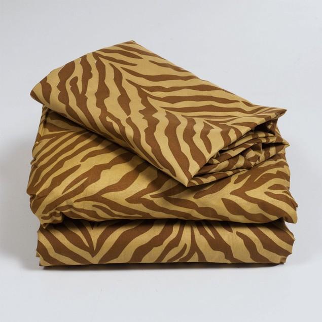 Lavish Home Series 1200 Sheet Set - Tiger