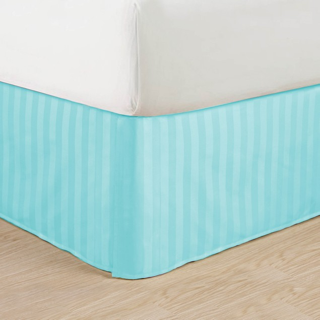 1500 Series Egyptian Quality Striped Bed Skirt