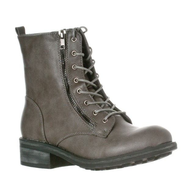 Riverberry Women's 'Zoe' Mid-Calf Lace Up Boot