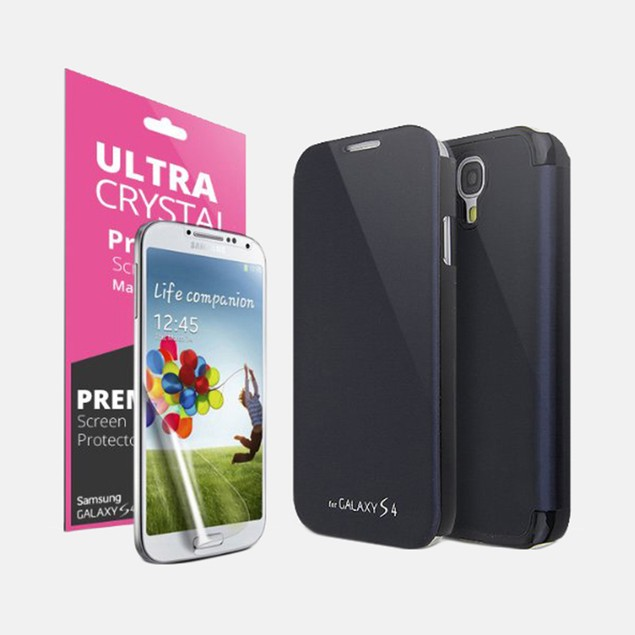 Cellto Premium Flip Cover for Samsung Galaxy S4