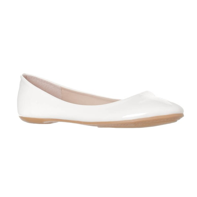 Riverberry Women's Aria Fashion Rounded Toe Ballet Flat Slip On Shoe