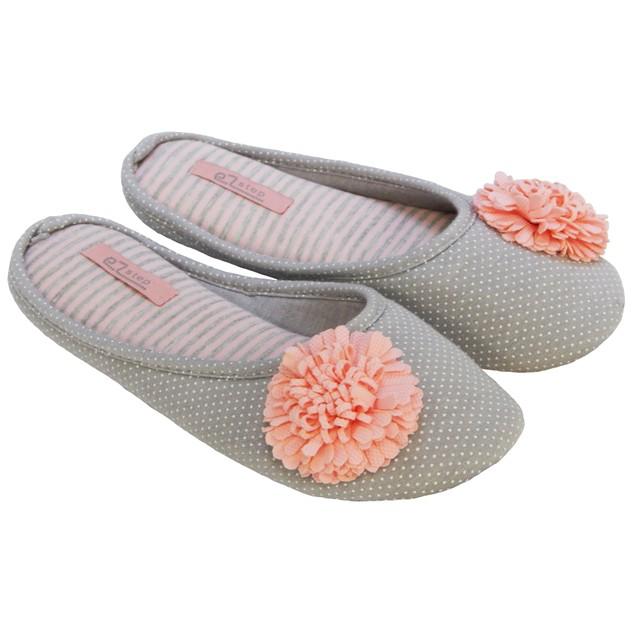 Women's Designer Pompom Slippers