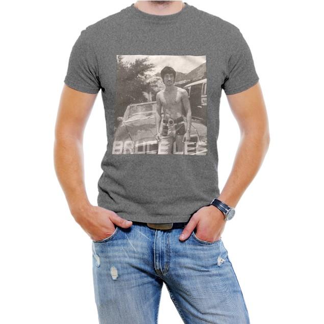 Classc Bruce Lee Black/White Men T-Shirt