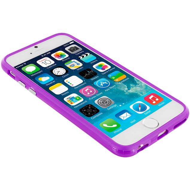 Apple iPhone 6 Plus (5.5) Hybrid TPU Bumper Case Cover