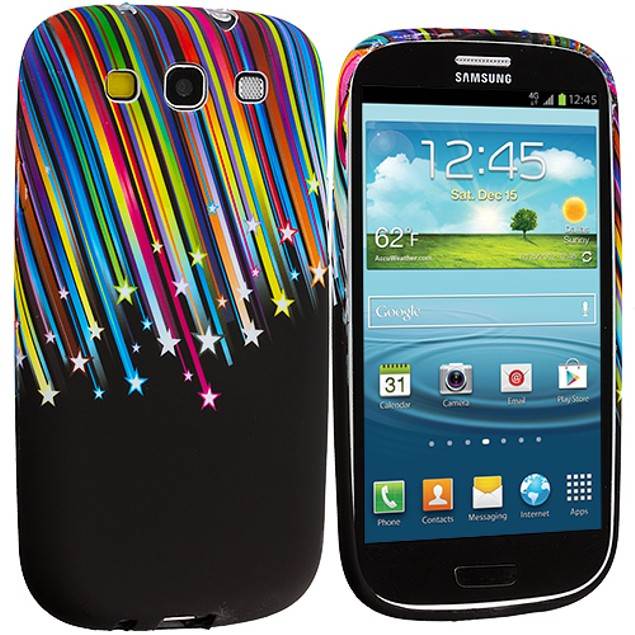 Samsung Galaxy S3 9300 TPU Design Rubber Skin Case Cover