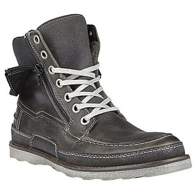 Steve Madden Suffolk Boot - Grey Leather