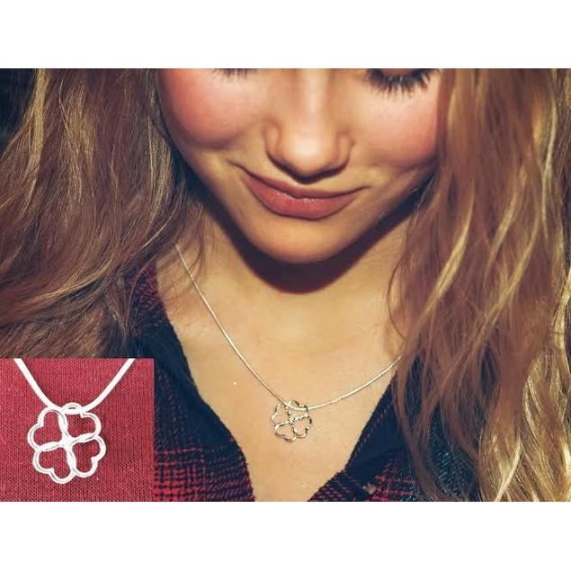 Heart Clover Necklace
