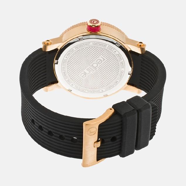 RL Compressor Black Dial Rose Gold Watch