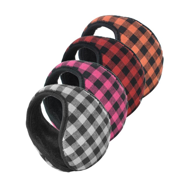 2-Pack Patterned Ear Muffs