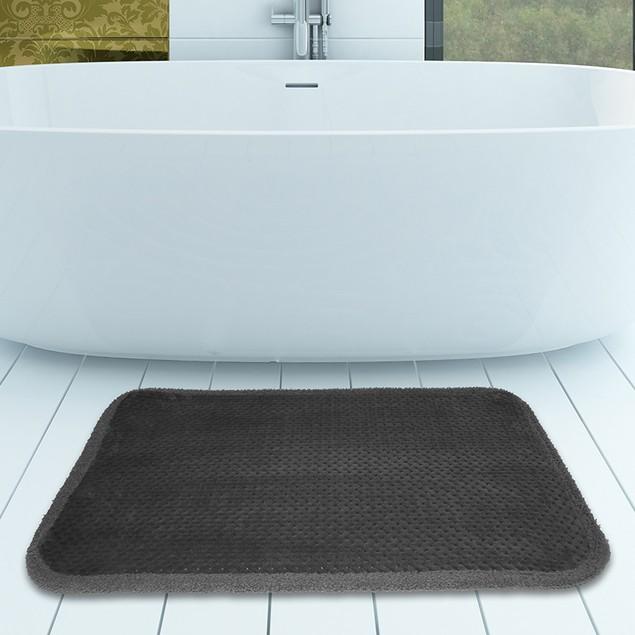 "17"" x 24"" Ultra Soft Memory Foam Comfort Bath Mat"