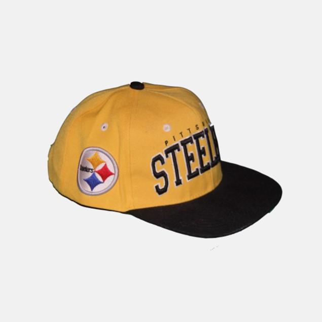 NFL Snapback Cap - Pittsburgh Steelers (Gold)