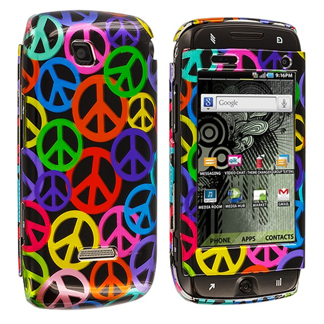 Samsung Sidekick 4G T839 Hard Design Case Cover