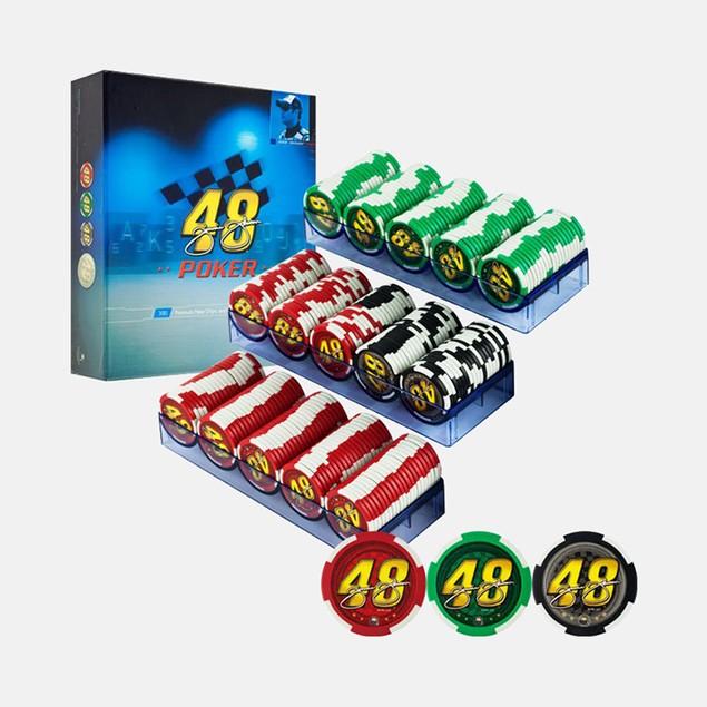 Jimmie Johnson NASCAR 300 Premium Poker Chip Set