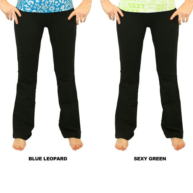 Prestige Foldover Yoga Pants