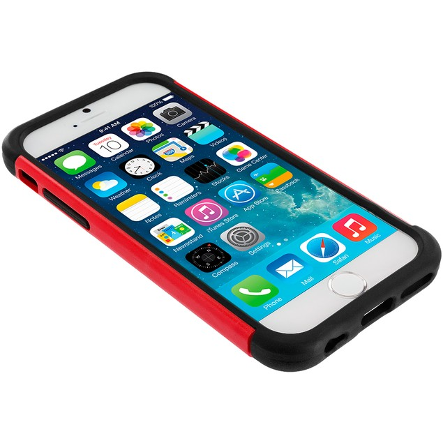 Apple iPhone 6 (4.7) Hybrid Rugged Armor Protector Hard Case Cover