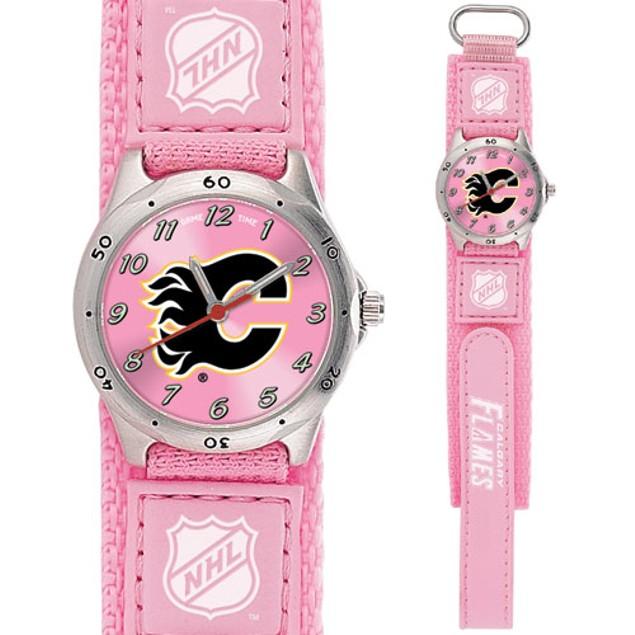 Calgary Flames NHL Girls Watch