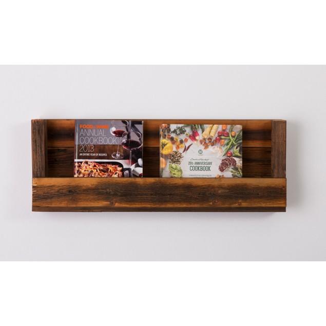 Refined Texas-Barnwood Shelves - 6 Colors!