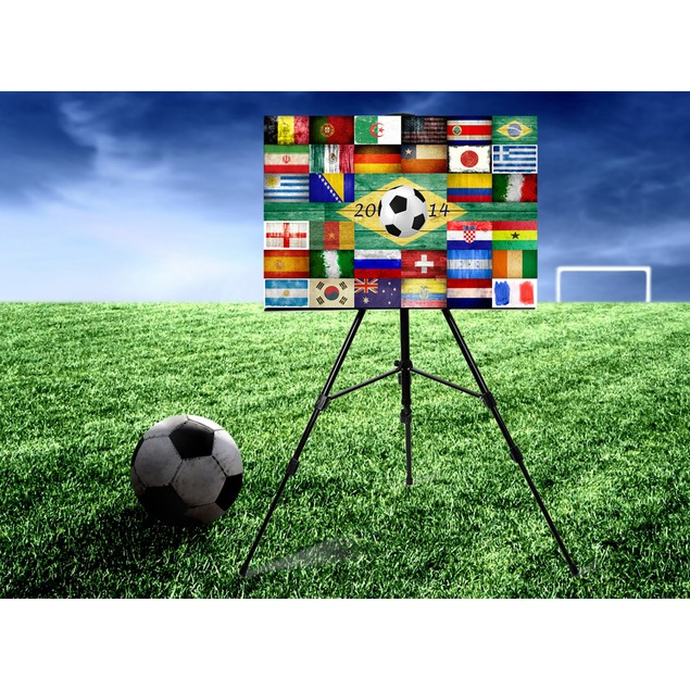 Nations Collage Canvas Print