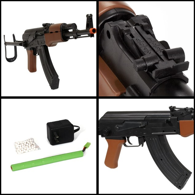 Electric AK-47 FPS-255 Folding Stock Airsoft Rifle