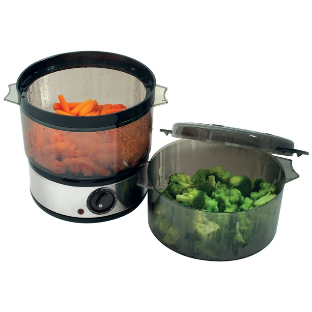 400 Watt Stainless Steel Food Steamer