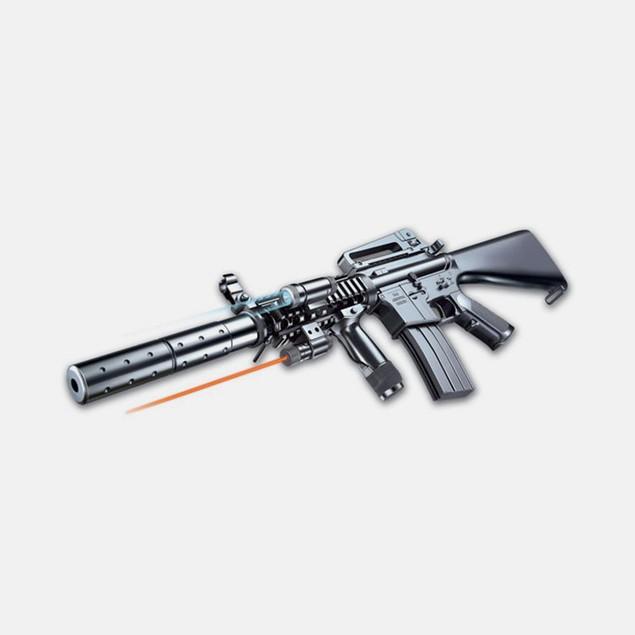 Spring M16A6 Assault Rifle Full Stock Airsoft Gun