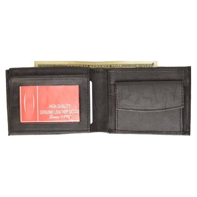 Men's Fashion Genuine Leather Bi-fold