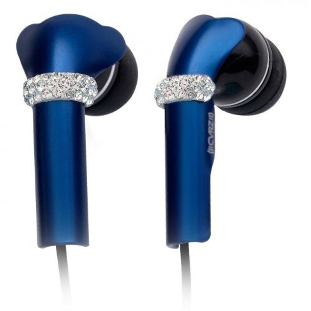 DEOS Swarovski Elements In Ear Headphones
