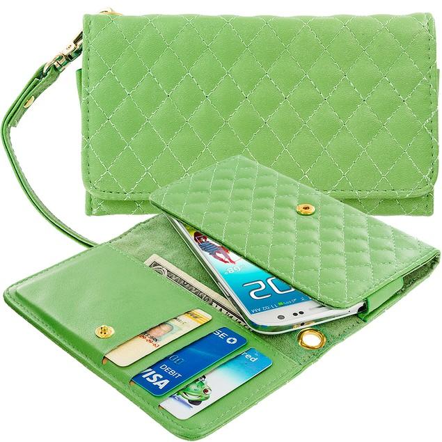 Samsung Galaxy S3 9300 Luxury Wallet Pouch Phone Holder