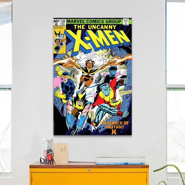 Marvel Comics X-Men Cover Issue Cover #126 Print